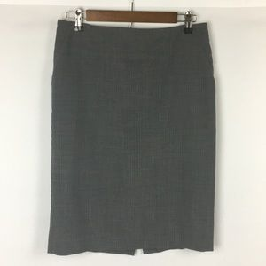 Banana Republic Gray Pencil Skirt Size 6 Stretch